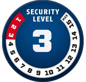 Łańcuch ABUS Steel-O-Chain 4804C - blue symbols