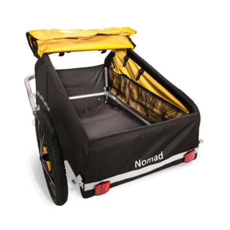 Przyczepka bagażowa BURLEY Nomad - żółta