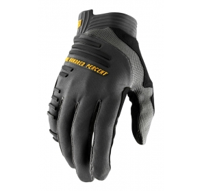 Rękawiczki 100% R-CORE Glove charcoal