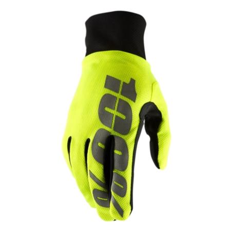 Rękawiczki 100% HYDROMATIC Waterproof Glove neon y