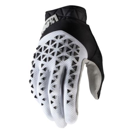 Rękawiczki 100% GEOMATIC Glove white