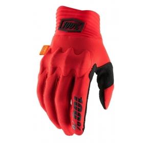 Rękawiczki 100% COGNITO Glove red black