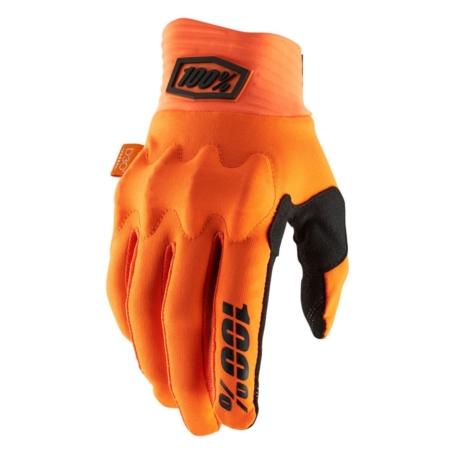 Rękawiczki 100% COGNITO Glove fluo orange black