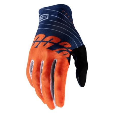 Rękawiczki 100% CELIUM Glove navy orange