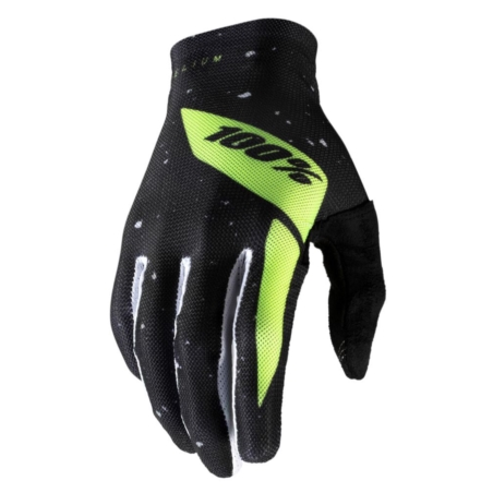 Rękawiczki 100% CELIUM Glove black fluo yellow