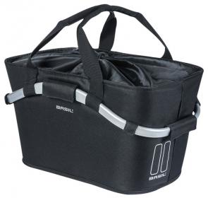 Kosz na tylny bagażnik BASIL CLASSIC CARRY - czarn
