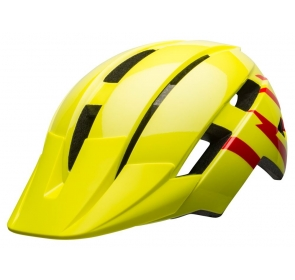 Kask juniorski BELL SIDETRACK II strike gloss hi-v
