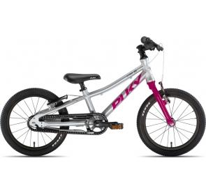 Rower dziecięcy PUKY S-Pro 16-1 - srebrno/fioletow