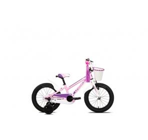 Rower dziecięcy UNIBIKE Daisy - różowo/biały - 202