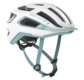 Kask rowerowy SCOTT Arx - white/stream blue