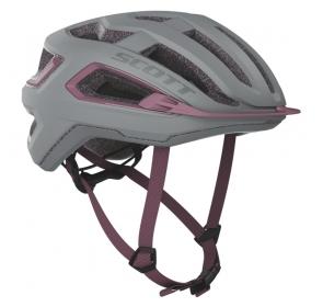 Kask rowerowy SCOTT Arx - grey/cassic pink
