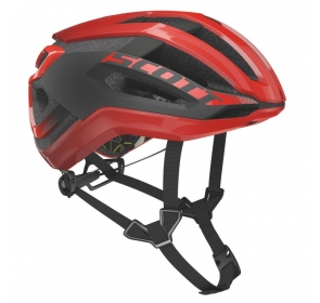Kask rowerowy SCOTT Centric Plus - fiery red