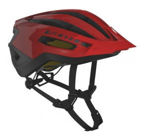 Kask rowerowy SCOTT Fuga Plus rev - fiery red