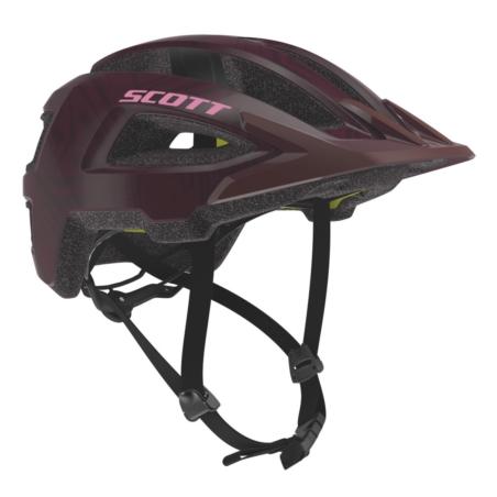 Kask rowerowy SCOTT Grove Plus - maroon red