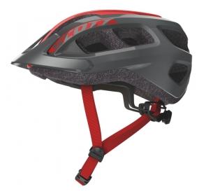 Kask Rowerowy SCOTT Supra - grey/red