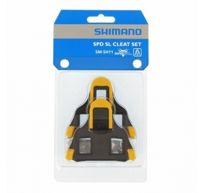Bloki SHIMANO SPD-SL SMSH11 - żółe