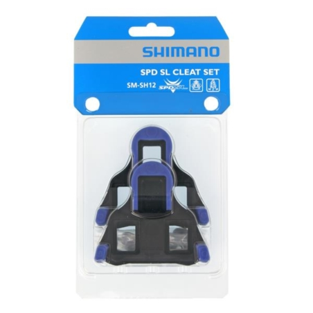 Bloki SHIMANO SPD-SL SMSH12 - niebieskie