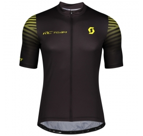 Koszulka SCOTT RC Team 10 - black/sulphur yellow