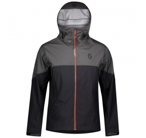Kurtka SCOTT Trail MTN WP - 	dark grey/black