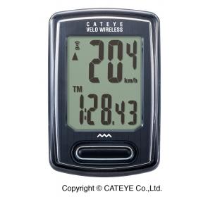 Licznik rowerowy CATEYE Wireless CC-VT230W, czarny