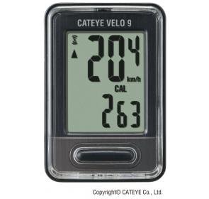 Licznik rowerowy CATEYE Velo 9 CC-VL820 - czarny