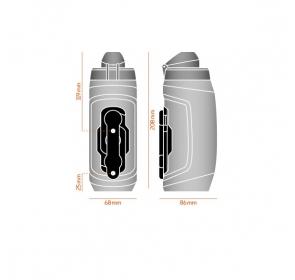 Bidon FIDLOCK Twist 590 + baza Bike - biały
