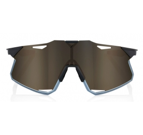 Okulary 100% HYPERCRAFT Matte Black - Soft Gold Mi