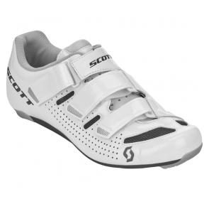 Buty rowerowe damskie SCOTT Road Comp Lady - białe