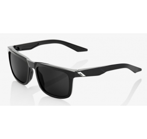 Okulary 100% BLAKE Polished Black - Grey PEAKPOLAR