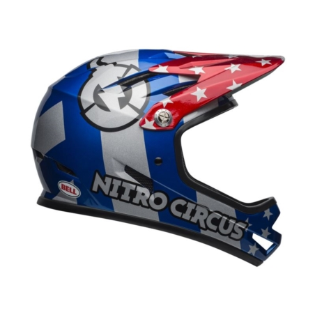 Kask full face BELL SANCTION nitro circus gloss si