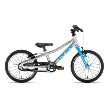 Rower dziecięcy PUKY LS-Pro 16-1 - srebrno/niebies