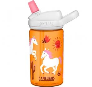 Butelka CamelBak Eddy+ Kids 400ml Limited - koniki