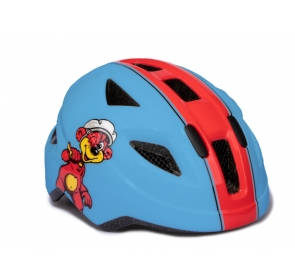 Kask PUKY PH-8 - S - blue/red