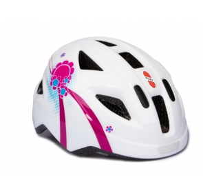 Kask PUKY PH-8 - S - white/pink