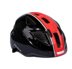 Kask PUKY PH-8 - M - black/red