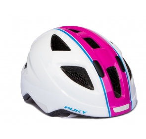 Kask PUKY PH-8 - M - white/pink