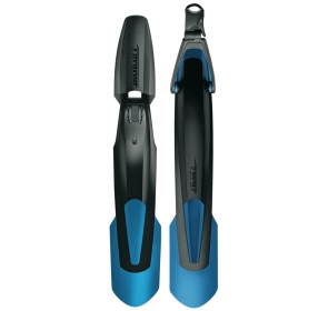Błotniki rowerowe SKS Blade - czarno/niebieskie