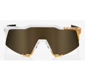 Okulary 100% SPEEDCRAFT Peter Sagan LE White Gold