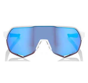 Okulary 100% S2 Matte White - HiPER Blue