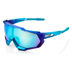 Okulary 100% SPEEDTRAP Matte Metallic Blue Topaz