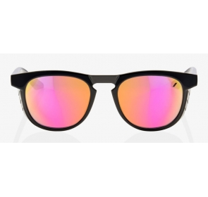 Okulary 100% SLENT Polished Black-Purple Multila