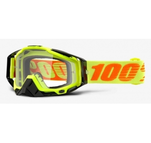 Gogle 100% RACECRAFT ATTACK YELLOW