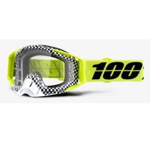 Gogle 100% RACECRAFT ANDRE (Szyba Srebrna Lustrzan