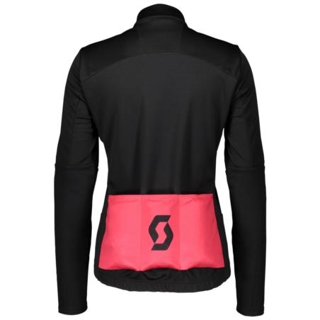 Kurtka damska SCOTT RC Warm Hybrid WB - black/pink