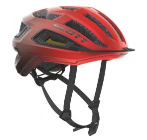 Kask rowerowy SCOTT Arx Plus - fiery red