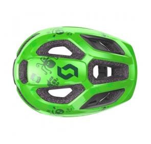 Kask Dziecięcy SCOTT Spunto Kid - fluo green