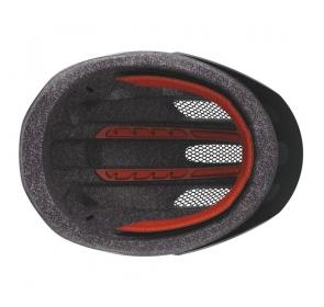 Kask Rowerowy SCOTT Supra - grey/red fade