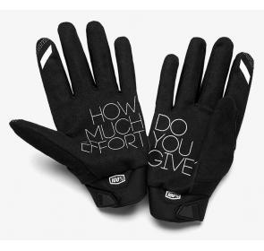 Rękawiczki 100% BRISKER Glove fluo orange black