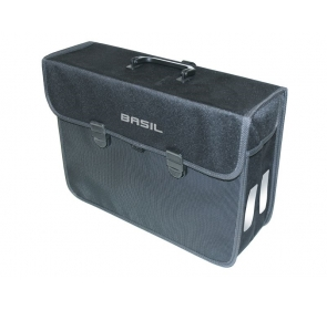Sakwa miejska pojedyncza BASIL MALAGA XL 17L blk
