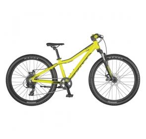 Rower Dziecięcy SCOTT Scale 24 disc- yellow - 2021